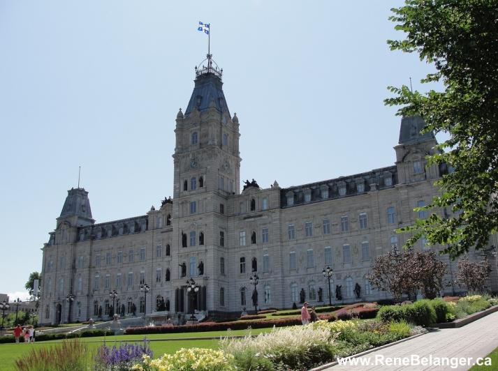 퀘벡 주청사 Hotel du Parlement du Quebec