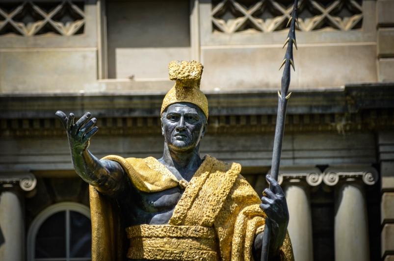 카메하메하 대왕 동상 King Kamehameha's Statue