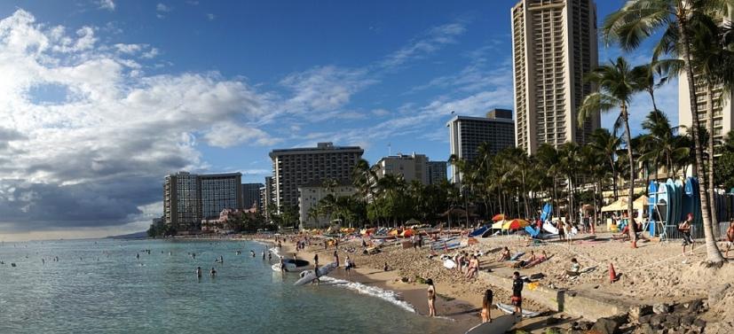 와이키키 해변 Waikiki Beach