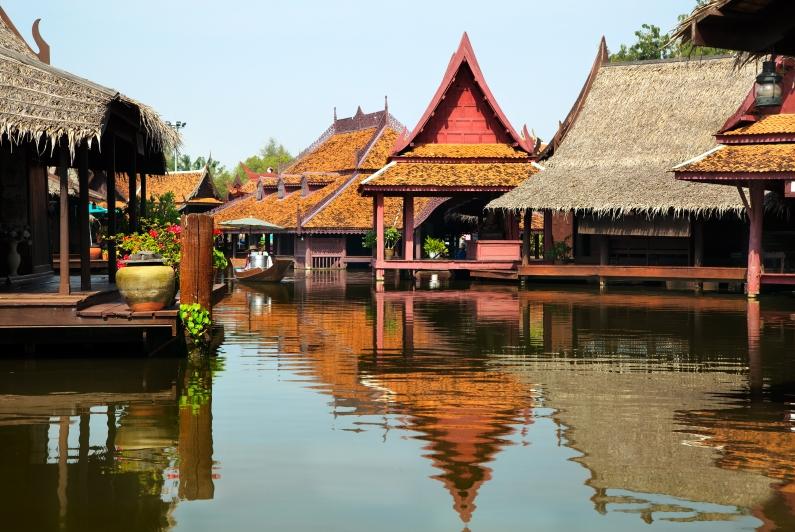방콕 수상가옥