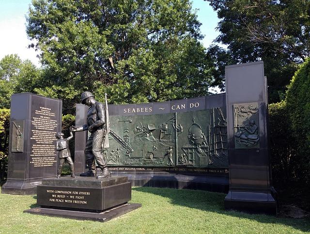 한국참전용사 기념비 Korean War Veterans Memorial