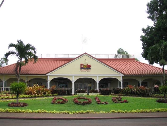 돌 플랜테이션 Dole Pineapple Plantation